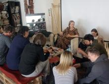 Любовь Бородина - воркшоп про головоломки на Дзен фестивале в Гуслице