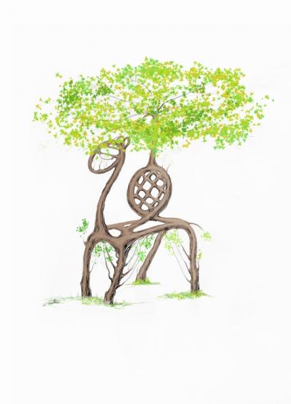 Арбоскульптура Верблюд