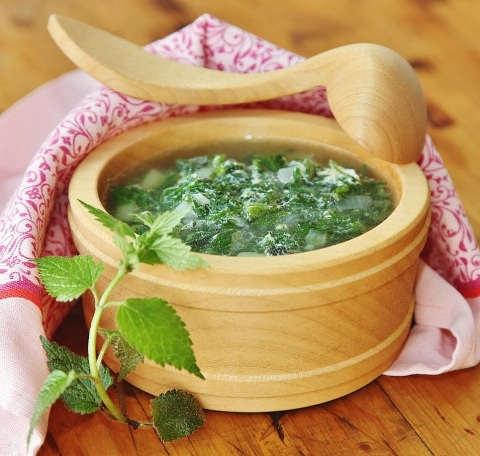 Рецепт: Зеленые щи с крапивой, щавелем и снытью. Как приготовить щи из весенних трав