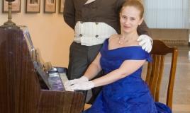 Любовь и Александр Бородины, Ночь искуств в Музее П.Н. Крылова 2014год