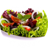 Простые зеленые салаты с салатом. Рецепты