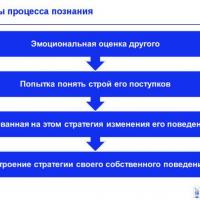Механизмы социального познания