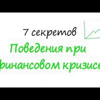 Embedded thumbnail for Эффективное поведение в условиях финансового кризиса