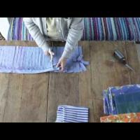 Embedded thumbnail for Как нарезать тряпочки для ткачества