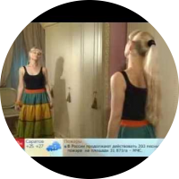 Embedded thumbnail for Крестьянская юбка в пол