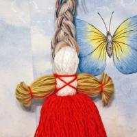 Оберег кукла Доля своими руками - мастер класс